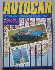Autocar magazine 9/4/1970 featuring Volvo 164 road test, Ford Capri