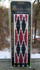 Mogul Mesh Lacrosse Mesh. 15mm Red White & Blue. American Flag Colors