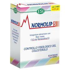 ESI NORMOLIP5 60 COMPRESSE Integratore Colesterolo