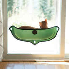 """New listing K&H Pet Products 9192 Green Ez Mount Window Bed Kitty Sill Green 27"""" X 11"""" X ."""
