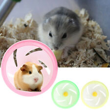 Hamster Mouse Rat Exercise Toys Plastic Silent Running Spinner Wheel Pet Toy Hot
