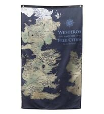 Game of Thrones Map of Westeros Got Banner collectible flag 30 x 50 inches
