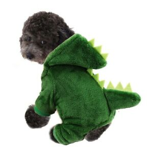 Puppy Clothes Dinosaur Costume Shaped Soft Comfortable Pet Decoration Accessory