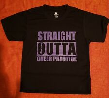 Nwot Cheer Spirit Shirtdri Fit Shirts Microfiber Youth 10/12 Can Be Personalized