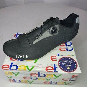 Fizik R5 Road Shoes Carbon Reinforced Cycling Shoes Black Mens US 11¾ EUR 45.5