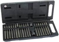 Innen Vielzahn Nüsse Torx Werkzeug Set 40-tg Inbus Nuss Steckschlüssel Satz Bits