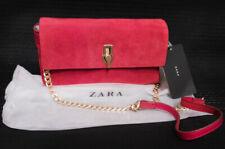 Zara Rote Leder Tasche Neu mit Etikett
