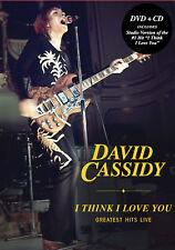 DAVID CASSIDY New Sealed 2019 LIVE BEST OF & MORE CONCERT DVD & CD SET