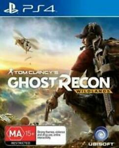 PS4 Games x 3, Battlefeild 1,Ghost Recon (wildlands),Assassins Creed (Syndicate)
