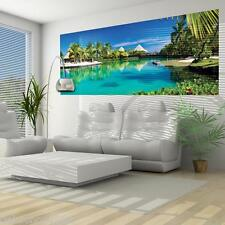 Vlies Fototapeten Fototapete Wandbild Tapeten MEER STRAND PALMEN HAWAII 577 VEP