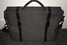 Pre-owned ASUS Design Gray Laptop Briefcase Messenger Bag For Laptop/Tablet EUC