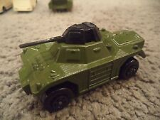 Lesney Matchbox Weasel #73 1979 Camo Green Rolamatics Great Condition 1970s