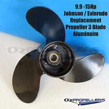 8-9.9-15hp Johnson Evinrude Prop Propeller Aluminium 3 Blade Standard 778772