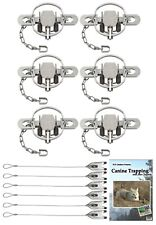 (6 Pack) Duke #1-3/4 Coilspring Offset Value Package with Dvd and Cable Stakes