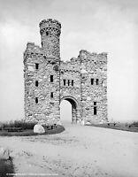 "1906 Bancroft Tower, Worcester, Massachusetts Old Photo 8.5"" x 11"" Reprint"
