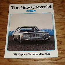 Original 1979 Chevrolet Caprice Classic & Impala Sales Brochure 79 Chevy