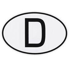10 Pièces D-Bouclier Plaque Allemagne D Autocollants á 9 x 6 cm juge/HR