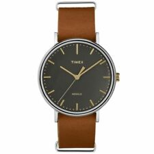 Men's Timex Weekender Fairfield Brown Watch TW2P97900 Brand New Boxed