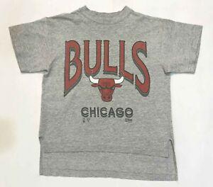 Vintage Salem NBA Chicago Bulls T-Shirt Gray M Tee USA