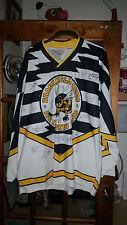 Bracknell Bees Jersey, firmato-INTERA SQUADRA-Chris BRANT VINTAGE Bee's! taglia XXL