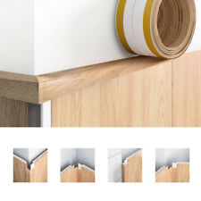 Finish Flex Flexible Plastic Corner Trim - Self Adhesive Edging Strip Angle