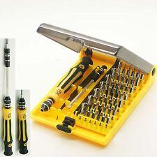 45-in - 1 di precisione esagonali Torx Star Cacciavite Magnetico Set di riparazione telefono cellulare PC