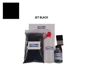 Black DIY Flocking Kit Small Kit - Dashboard Flock - Adhesive Applicator - Craft