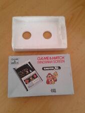 NINTENDO GAME&WATCH PANORAMA DONKEY KONG JR. CJ-93 CAJA COMPLETA BOX&FOAM
