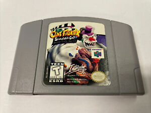 Clay Fighter Sculptor's Cut 63 1/3 Nintendo 64 N64 Authentic Original Tested Usa