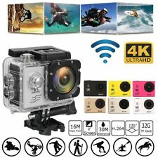 1080P HD 4K WiFi Sport Camera Action DV DVR Video Recorder Camcorder Waterproof