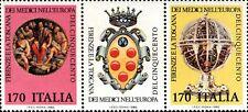 1980 ITALIA FAMIGLIA DEI MEDICI 2 VALORI BLOCCO APPENDICE NUOVO ** MNH (C1501