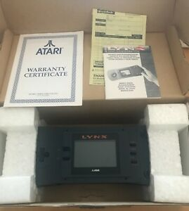 Atari Lynx 1 Console Boxed + Dirty Larry + power adapter