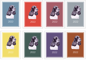 English Springer Spaniel 2022 A5 WeekView Diary NORMALDOG SHOW DATES/APPOINTMENT