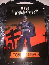 MENS WARRIOR KING FANCY DRESS COSTUME (TROUSERS NOT INCLUDED) L/XL BNWT NEW