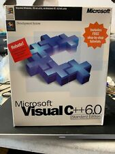 Microsoft Visual C++ Profession Edition Version 6.0 w/ Serial Key
