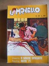 IL MONELLO n°30 1971 Inserto A Sirene Spiegate  + Figurine Auto 1971 [G430]