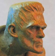 """Boris Karloff as """"Frankenstein's Monster"""" – Limited Edition Bronze by Mike Hill"""