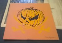 Angry Blue Pumpking Hacktober Screen Print Angryblue Limited Edition Halloween
