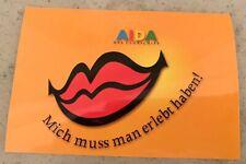 1 AIDA Aufkleber RARITÄT für AIDA FANS