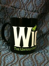 Wicked Musical Coffee Cup Black Untold Story Oz Witches Play Broadway Wizard Of