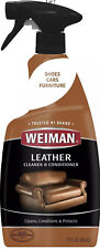 WEIMAN LEATHER CLEANER CONDITIONER Moisturizer Protect Polish Couch Furniture