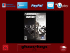 Tom Clancy's Rainbow Six Siege Uplay Pc Key Game Download Code Neu Blitzversand