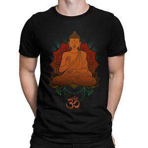 Buddha Spiritual Om Peace Mandala Buddhist Symbolic Unisex T-shirt