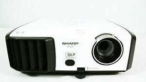 Sharp XR-32X DLP Projector 2500 ANSI HD 1080p HDMI-adapter Remote Included