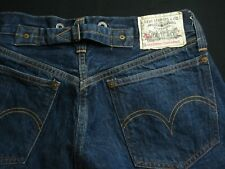 33 x 32 Levi's 201 XX #555 Red Line Selvedge Buckle Back LVC Jeans Vintage 90s