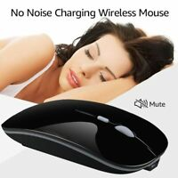 Wireless Mouse Bluetooth Mouse Silent PC Rechargeable 2.4Ghz USB Optical Mice