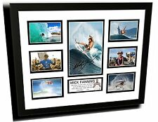 MICK FANNING #2 SIGNED LIMITED EDITION FRAMED MEMORABILIA