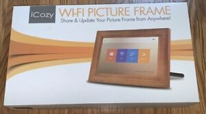 "iCozy Touch screen 10"" Wi - Fi Picture Frame For Parts"