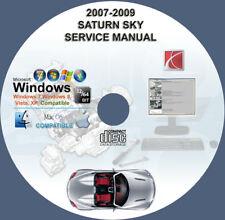car truck service repair manuals for saturn for sale ebay rh ebay com 2007 Saturn Sky Problems 2008 Saturn Sky Turbo Red Lines