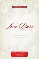 The Love Dare Day by Day: Gift Edition: A Year of Devotions for Couples (Leather